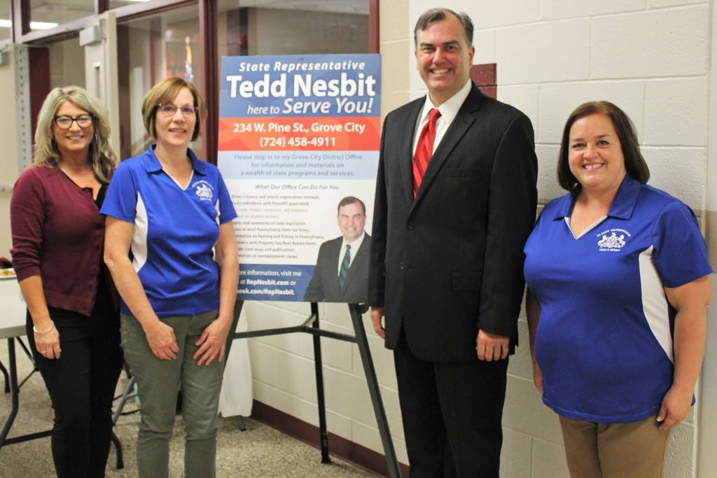 Rep. Ted Nesbit and Staff